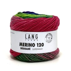 Lang Yarns Merino 120 Degrade Gerbera (37.0008)