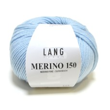 Lang Yarns Merino 150 Baby Blue (197.0074)