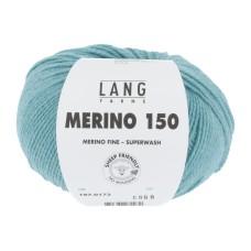 Lang Yarns Merino 150 Blue Turquoise (197.0172)