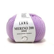Lang Yarns Merino 200 Bebe Lavender (71.0307)