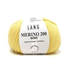 Lang Yarns Merino 200 Bebe Lemon (71.0314)