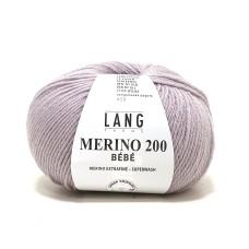 Lang Yarns Merino 200 Bebe Amarant (71.0346)