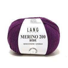 Lang Yarns Merino 200 Bebe Eggplant (71.0347)
