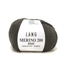 Lang Yarns Merino 200 Bebe Army (71.0367)