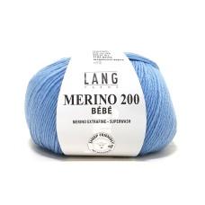 Lang Yarns Merino 200 Bebe Cloud Blue (71.0372)