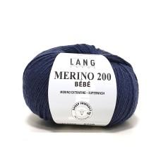 Lang Yarns Merino 200 Bebe Dark Sea (71.0434)