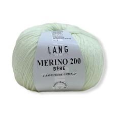 Lang Yarns Merino 200 Bebe Baby Groen (71.0517)