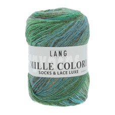 Lang Yarns Mille Colori Socks & Lace Luxe Springfield (0017)