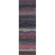 Lang Yarns Mille Colori Socks & Lace Luxe Tango