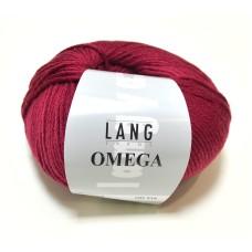 Lang Yarns Omega Bordeaux