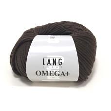 Lang Yarns Omega+ Dark Brown (764.0067)