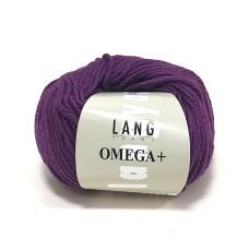 Lang Yarns Omega+ Dark Purple (764.0080)