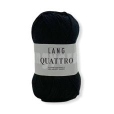Lang Yarns Quattro Black (0004)