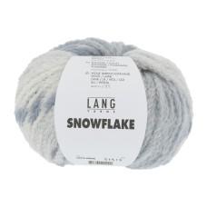 Lang Yarns Snowflake blauw (0006)