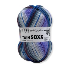Lang Yarns Twin Soxx 4 Ply Style of Africa Lilac (0305)