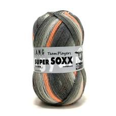 Lang Yarns Super Soxx Color Team Players Neon Orange (901.0277)