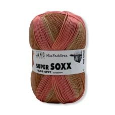 Lang Yarns Super Soxx Mixpacksoxx Coral (0313)
