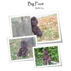 Ceygurumi Big Foot (Haakpakket)