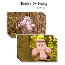 Ceygurumi Hippie Owl Molly By Mr. Cey (Haakpatroon)