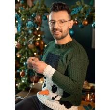 Foute Kersttrui Sneeuwpop Pakket BUDGET (Het Grote Kersthaakboek)