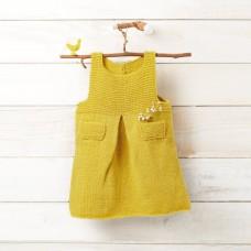 Katia DIY Baby Pop Dress Knit Kit (12 Mnd)
