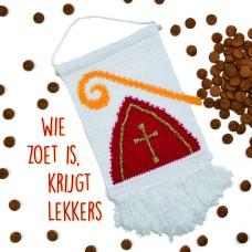 Wandhanger Sinterklaas (Haakpakket)