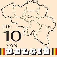 De 10 van Belgie CAL 2021 (Ecru) - Katoen