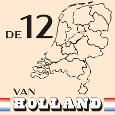 De 12 van Holland CAL 2021 (Ecru) - Katoen