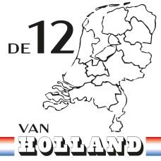 De 12 van Holland CAL 2021 (White) - Katoen