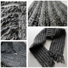 Patent Steek Sjaal (Breipatroon)