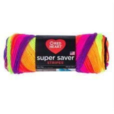 Red Heart Super Saver Bright Stripe