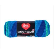 Red Heart Super Saver Cool Stripe