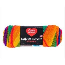 Red Heart Super Saver Favorite Stripe