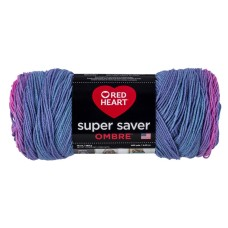 Red Heart Super Saver Ombre Yarn Sweet Treat