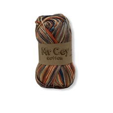 Mr. Cey Cotton Multi Made in Brown