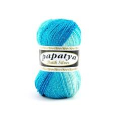 Papatya Batik Silver Turquoise