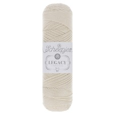 Scheepjes Legacy Mercerised Cotton No 6 Ecru (089)