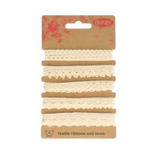 Bobbin lace Self-service Ecru 60888