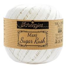 Scheepjes Maxi Sugar Rush 50 g Bridal White