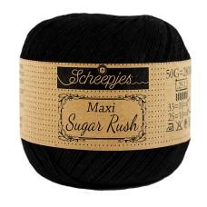Scheepjes Maxi Sugar Rush 50 g Black