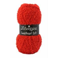 Scheepjes Sweetheart Soft Hot Red