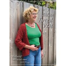 Woolly Tweed Vest (Haakpatroon)