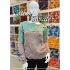 Cotton 4 Sweater (Breipatroon)
