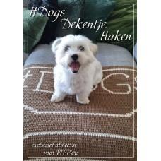 Dogs bankdekentje (Haakpatroon)